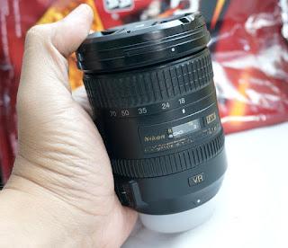 Lensa Nikon 18-200mm VR2 Bekas