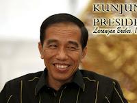 Menanti Kedatangan Presiden Jokowi di Desa Larangan