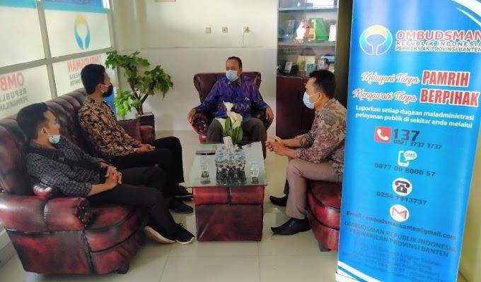 Bangun Sinergitas, PERMAHI Banten Minta Dukungan Ombudsman Banten