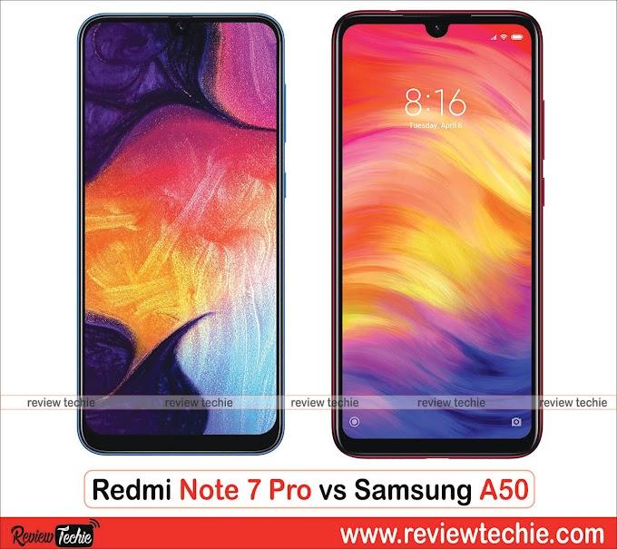 Redmi Note 7 Pro vs Samsung A50