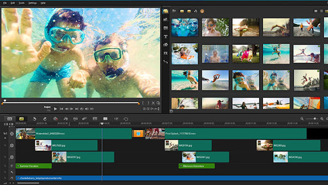 Corel Video Studio - aplikasi edit video untuk youtuber pemula
