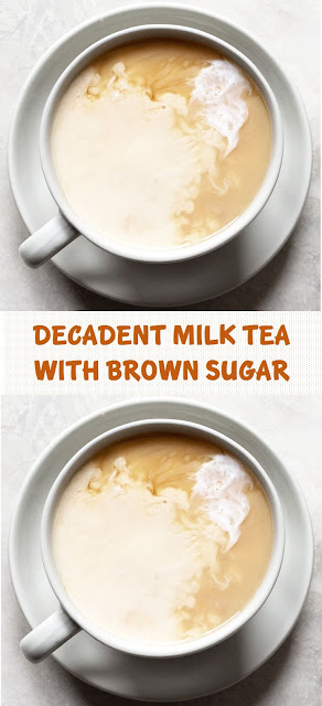 Decadent Milk Tea with Brown Sugar