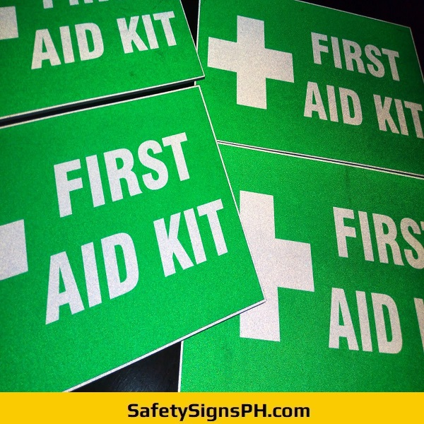 Reflective First Aid Kit Signs Philippines