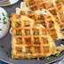 EGG & CHEESE HASH BROWN WAFFLES