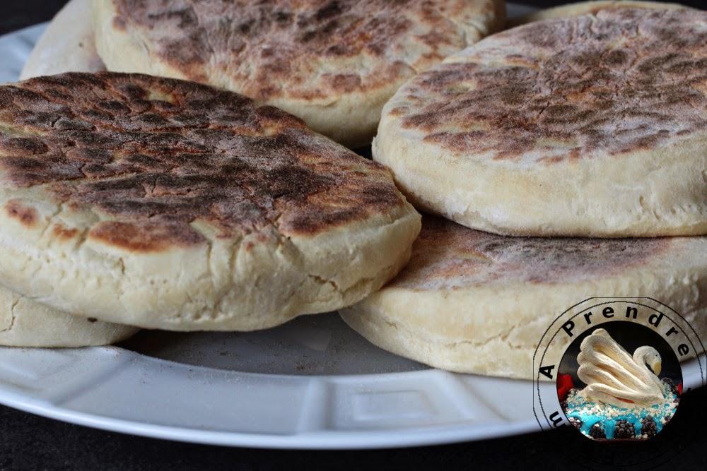 Muffins anglais (pas à pas en photos)