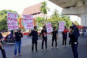 Resmikan Jalan Tol layang Pettarani di Makassar, Jokowi disambut Aksi Demonstrasi dari GAM