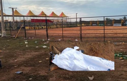 Homem é morto na frente da esposa durante festa de rodeio