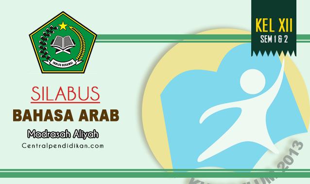 Silabus Bahasa Arab Kelas 12 MA Edisi 2021/2022 Lengkap