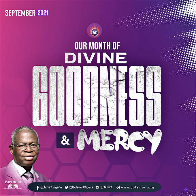 GOFAMINT PROPHETIC DECLARATION FOR THE MONTH OF SEPTEMBER 2021