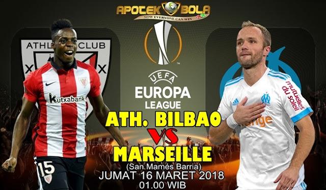 Prediksi Athletic Bilbao vs Marseille 16 Maret 2018