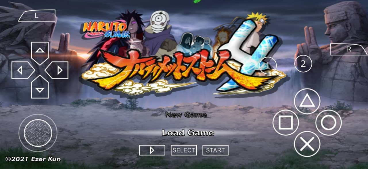 Naruto Accel 3 Mod Storm 4 PPSSPP