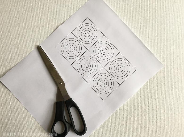 Kandinsky circles printable