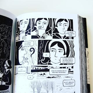 Graphic Novel Liebe Flucht Migration Krieg Leseempfehlung Zeichenstil