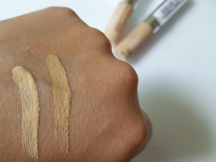 Swatches: L´Oreál Paris - Perfect Match Flüssig Concealer - je 4.95 Euro Vanilla & Cream