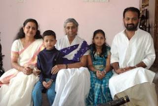 Singer S Janaki Family Husband Parents children's Marriage Photos