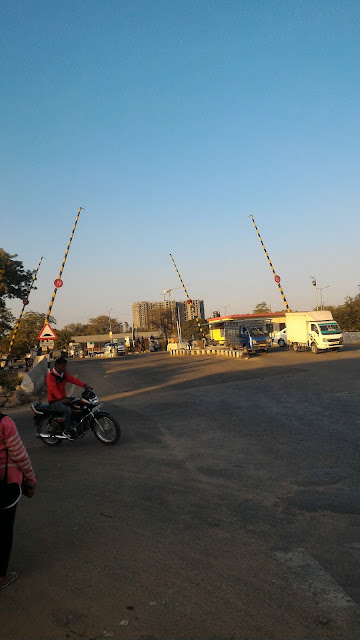 Indian Railway crossing