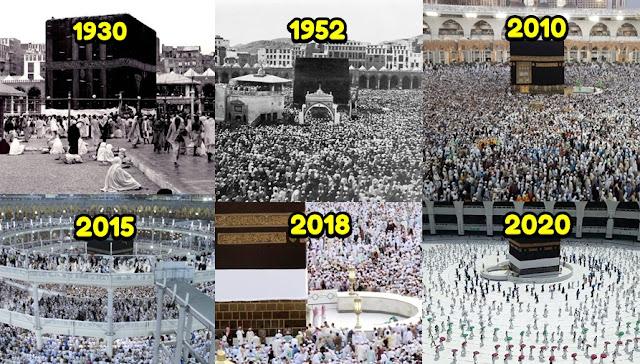 Jumlah Jamaah Haji Indonesia dari Tahun 1888 - 2020