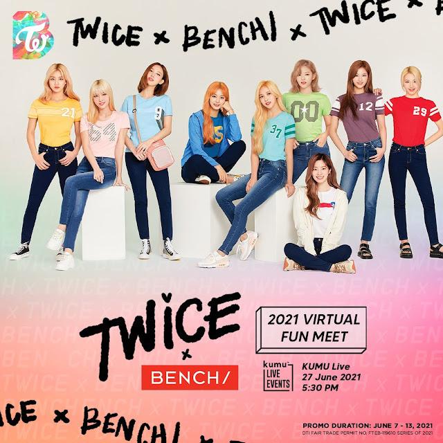 TWICE x Bench Virtual Fun Meet