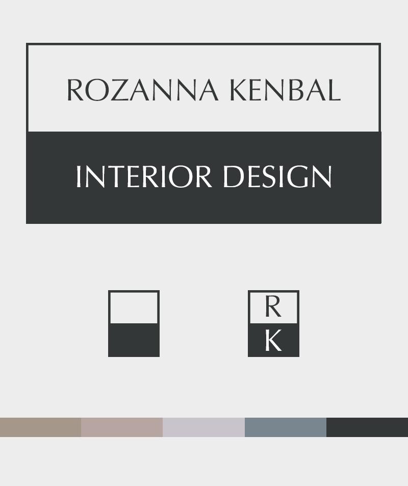 Premade Brand Identity Rozanna Kenbal