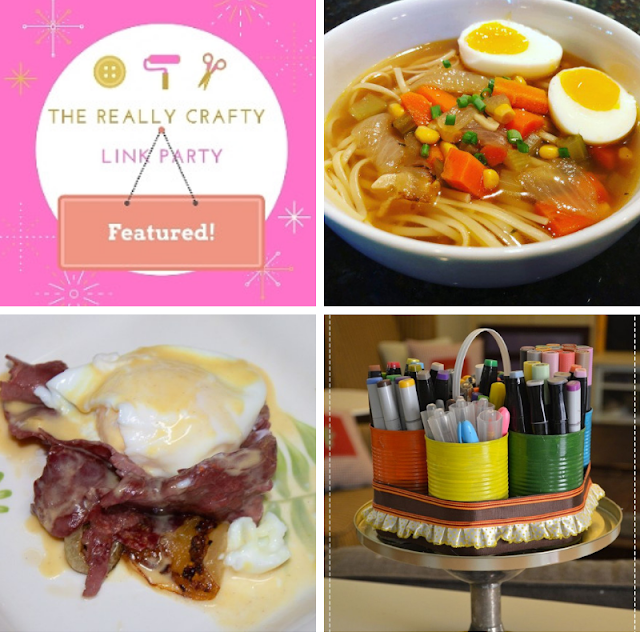 The Really Crafty Link Party #141 featured posts