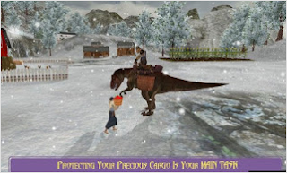 Extreme Dino Rex Snow Cargo v1.1 Mod Apk (Unlimited Money) Terbaru 2017