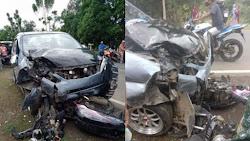 Kecelakaan Maut di Bone, Pemotor Tewas di Tempat Setelah Tabrakan dengan Mobil