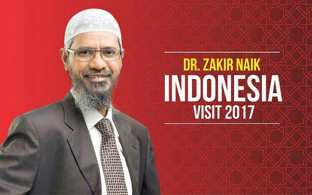 Gelar Debat? DR Zakir Naik Siap Berdakwah ke Non-Muslim di Indonesia
