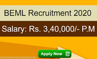 BEML Sarkari Naukri 2020 Recruitment For Director Posts | Sarkari Jobs Adda