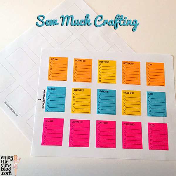 free printables from Sew Much Crafting