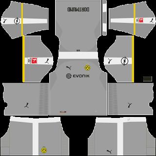 Borussia Dortmund Dream League Soccer fts 2019 DLS FTS Kits and Logo