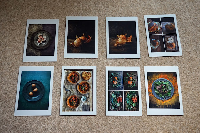 8 postcards
