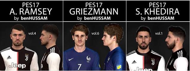 PES 2017 Ramsey, Khedira & Griezmann Face Buy benHUSSAM