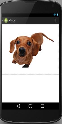 Diseño de la actividad con un ImageView