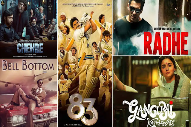 Top 10 Trending Movies in India 2021 - Most Anticipated New Hindi Movies