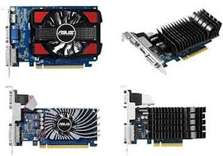 ASUS NVIDIA tipe GeForce GT 730  vga gaming