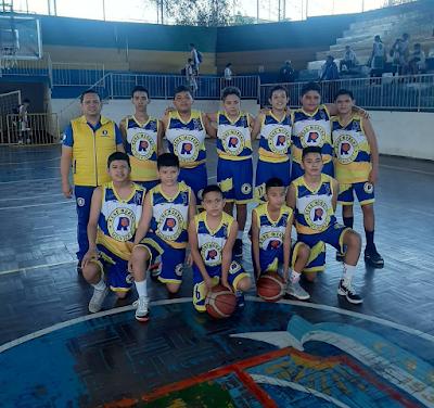 Selección de basquetbol Montero. (Foto: Facebook)