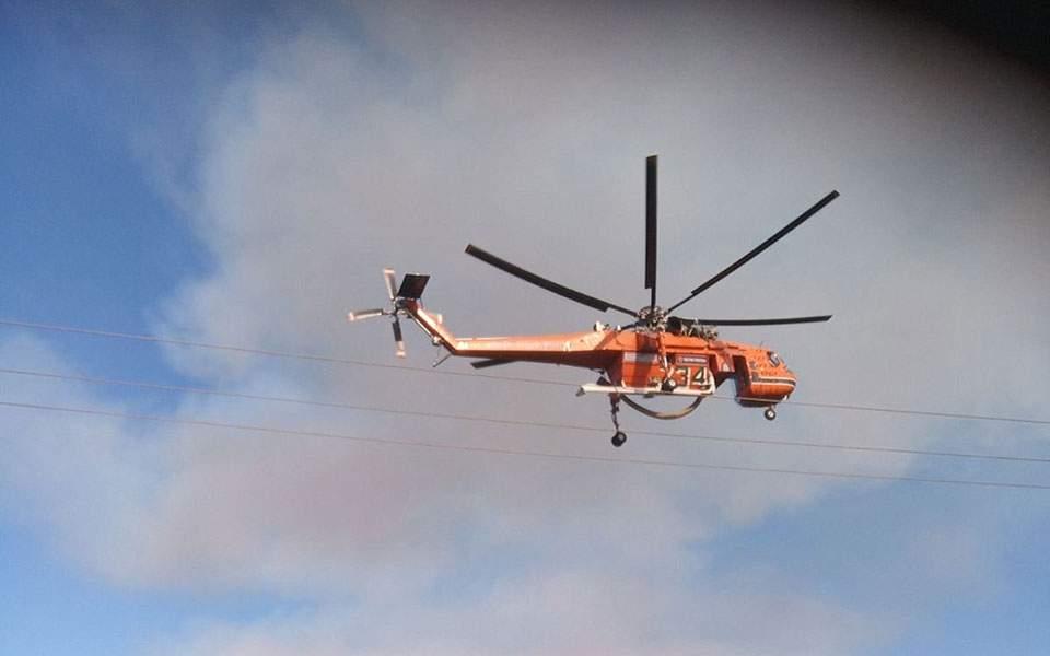 Μεγάλη πυρκαγιά στον Έβρο - Κινητοποιήθηκαν 40 πυροσβέστες