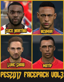 Bruno Wygno PES 2017 Face Pack V3