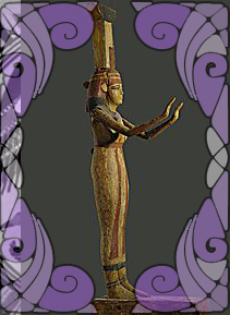Goddess Nephthys statue | Wicca, Magic, Witchcraft, Paganism