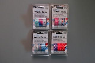 taśmy washi auchan styczniowe zakupy haul