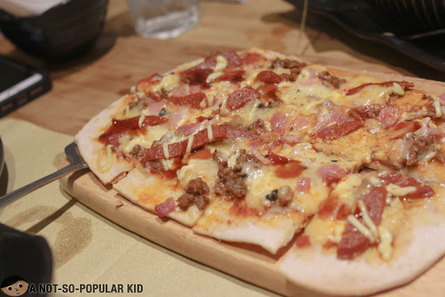 Samurai All Meat Pizza