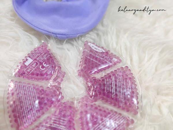 Mengatasi payudara bengkak dengan Lansinoh TheraPearl® Breast Therapy