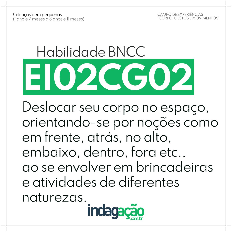 Habilidade EI02CG02 BNCC