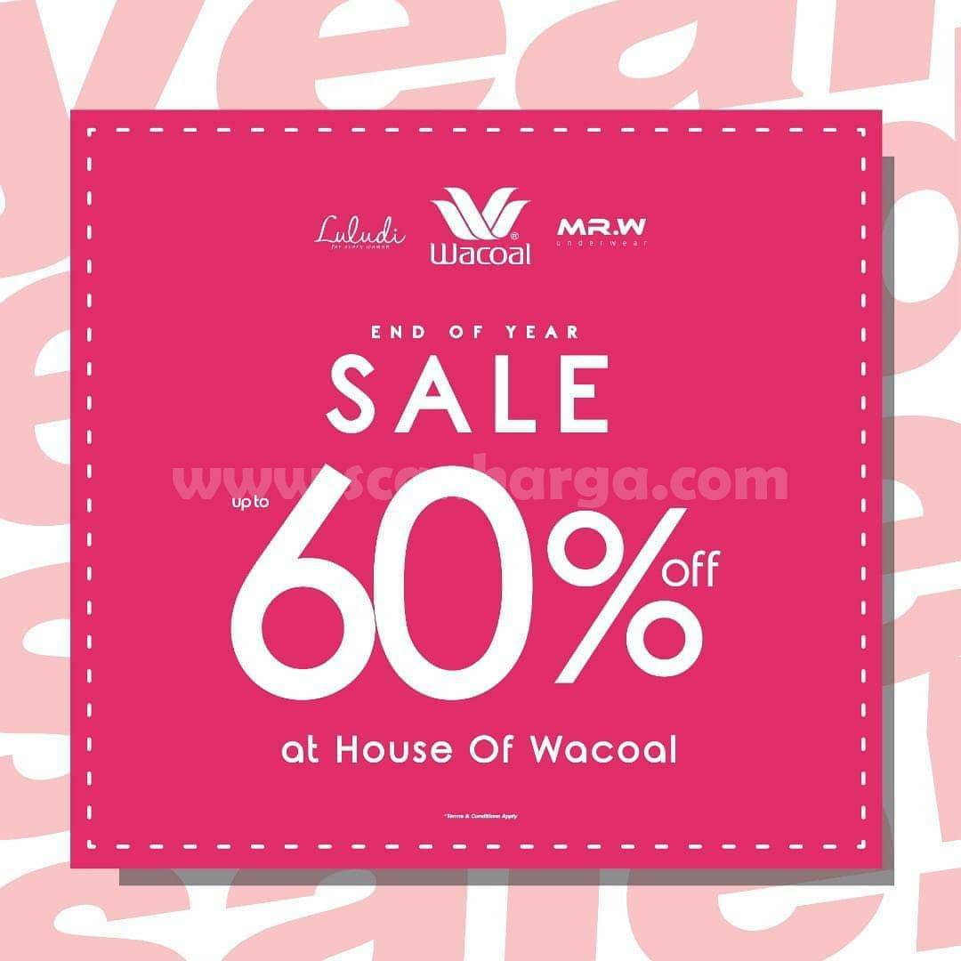 Promo Wacoal End Of Year SALE Up To 60% Off At House Of Wacoal*