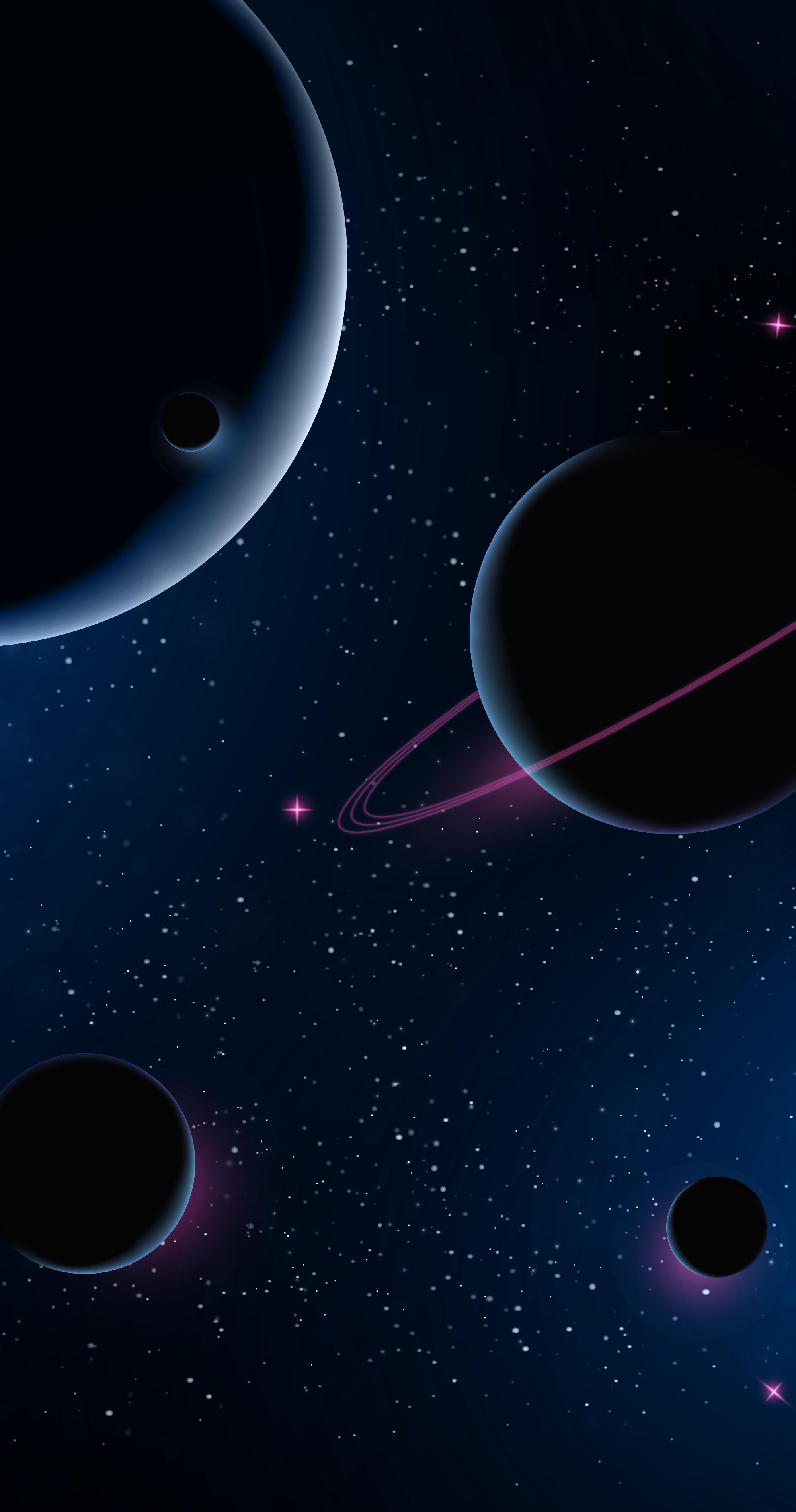 Black Space Heroscreen Cool Wallpapers