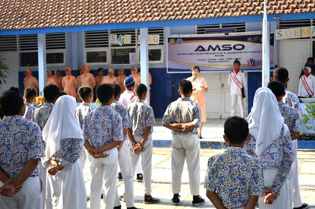 Melatih Siswa Tanggap Tantangan Zaman di AMSO 2019