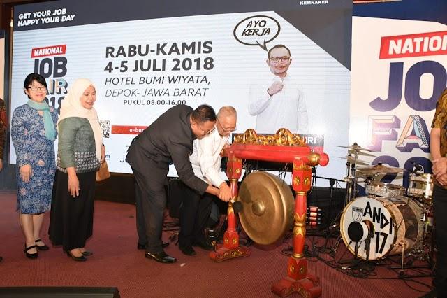 150 Perusahaan Ramaikan National Job Fair 2018