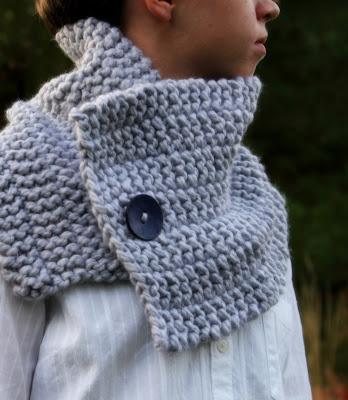 Fifty Four Ten Studio Free Knitting Pattern Side Line Cowl