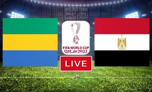Match Gabon vs Egypt Live Streaming FIFA World Cup Qatar 2022 Qualifier