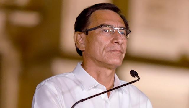 Martín Vizcarra aceptó su destitución como presidente